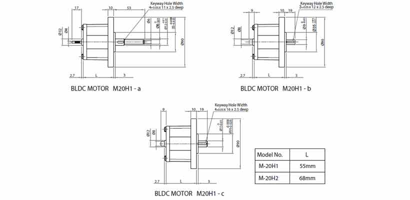 Out-Runner Type BLDC Motor